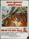 """Movie Posters:James Bond, You Only Live Twice (United Artists, 1967). French Grande (47"""" X 63"""") Style A. James Bond...."""