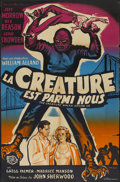 "Movie Posters:Science Fiction, The Creature Walks Among Us (Universal International, 1956). FrenchPoster (30"" X 47""). Science Fiction...."