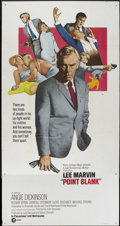 """Movie Posters:Crime, Point Blank (MGM, 1967). Three Sheet (41"""" X 81""""). Crime...."""