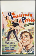 "Movie Posters:Academy Award Winner, An American in Paris (MGM, 1951). Belgian (14"" X 22""). Academy Award Winner...."