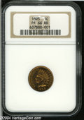 Proof Indian Cents: , 1895 1C PR66 Red NGC....