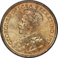 Canada, George V 25 Cents 1918 UNC Detail (Cleaned) PCGS, ...