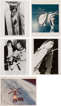 Explorers:Space Exploration, Charles Conrad: Collection of Signed Photos (Four). ...