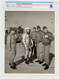 Explorers:Space Exploration, X-15: U.S. Air Force Official Photograph, 1960-62, of Neil Armstrong in Flight Suit Directly From The Armstrong Family Col...