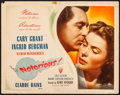 """Movie Posters:Hitchcock, Notorious (RKO, 1946). Fine/Very Fine. Title Lobby Card (11"""" X 14""""). Hitchcock.. ..."""