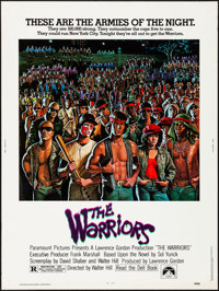 "The Warriors (Paramount, 1979). Rolled, Very Fine. Poster (30"" X 40""). David Jarvis Artwork. Action"