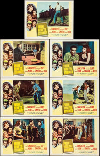 """From Here to Eternity (Columbia, 1953). Fine+. Lobby Cards (7) (11"""" X 14""""). Academy Award Winners. ... (Total:..."""