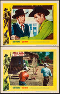"""Movie Posters:Western, High Noon (United Artists, 1952). Very Fine+. Lobby Cards (2) (11"""" X 14""""). Western.. ... (Total: 2 Items)"""