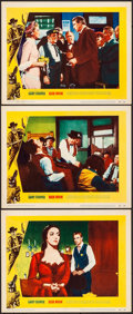"Movie Posters:Western, High Noon (United Artists, 1952). Very Fine. Lobby Cards (3) (11"" X 14""). Western.. ... (Total: 3 Items)"