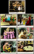 """Movie Posters:Musical, The King and I (20th Century Fox, 1956). Very Fine. Deluxe Color-Glos Lobby Cards (7) (11"""" X 14""""). Musical.. ... (Total: 7 Items)"""