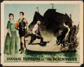 "Movie Posters:Swashbuckler, The Black Pirate (United Artists, 1926). Fine+. Lobby Card (11"" X 14""). Swashbuckler.. ..."