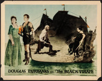 "The Black Pirate (United Artists, 1926). Fine+. Lobby Card (11"" X 14""). Swashbuckler"