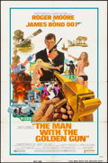 "Movie Posters:James Bond, The Man with the Golden Gun (United Artists, 1974). Folded, Fine+. One Sheet (27"" X 41""). Robert McGinnis Artwork. James Bon..."