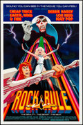"Movie Posters:Animation, Rock and Rule (MGM/UA, 1983). Rolled, Very Fine. One Sheet (27"" X41""). Animation.. ..."