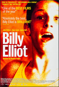 "Billy Elliot & Other Lot (Universal, 2000). Overall: Rolled, Very Fine. International One Sheet (27"" X 40""..."