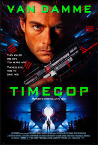 """Timecop & Other Lot (Universal, 1994). Rolled, Very Fine. One Sheets (3) (26.75"""" X 39.75"""") DS. Action..."""