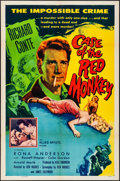 "Movie Posters:Mystery, The Case of the Red Monkey (Allied Artists, 1955). Folded, Very Fine-. One Sheet (27"" X 41""). Mystery.. ..."