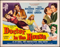 "Doctor in the House (Republic, 1953). Rolled, Very Fine-. Half Sheets (2) (22"" X 28"") Styles A & B. Co..."