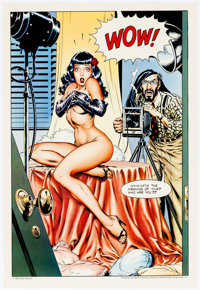 Dave Stevens Betty Page Poster Group of 3 (1983-84).... (Total: 3 Items)
