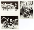Memorabilia:Science Fiction, Frank Frazetta Space-Related Photographic Prints Group of 6.... (Total: 6 Items)