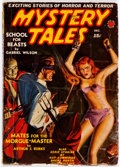 Pulps:Horror, Mystery Tales - December 1939 (Red Circle) Condition: Apparent GD/VG....