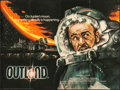 """Movie Posters:Science Fiction, Outland (Warner Brothers, 1981). Folded, Very Fine. British Quad (30"""" X 40""""). Science Fiction.. ..."""