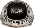 Basketball Collectibles:Others, 1999 Ohio State Buckeyes Basketball Final Four Ring Presented to Guard Boban Savovic....