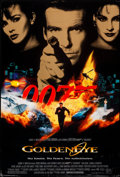 "Movie Posters:James Bond, GoldenEye & Other Lot (United Artists, 1995). Rolled, Fine+. One Sheets (2) (27"" X 40"") SS. James Bond.. ... (Total: 2 Items)"