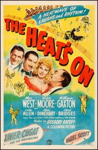 """The Heat's On (Columbia, 1943). Fine on Linen. One Sheet (27"""" X 41""""). Musical"""