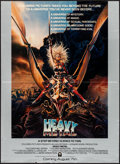 """Movie Posters:Animation, Heavy Metal & Other Lot (Columbia, 1981). Folded, Very Fine-.Mini Posters (2) (18"""" X 24.75"""" & 18"""" X 21"""") DS Advance. Chris... (Total: 2 Items)"""