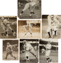 Baseball Collectibles:Photos, 1920's-'30's Rogers Hornsby Original Photographs Lot of 22 from TheBaseball Magazine Collection. ...