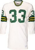 Football Collectibles:Uniforms, 1970 Jim Grabowski Game Worn Green Bay Packers Jersey. ...