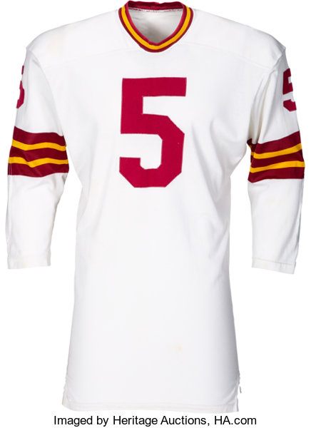 finest selection 75cf6 d5335 Early 1970's Curt Knight Game Worn Washington Redskins ...