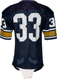 1f54f7354fa ... Football Collectibles:Uniforms, 1971-72 Tony Dorsett Game Worn &  Signed Hopewell ...
