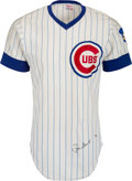 Baseball Collectibles:Uniforms, 1973 Ron Santo Game Worn & Signed Chicago Cubs Jersey....