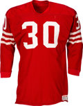 Football Collectibles:Uniforms, 1960's Bernie Casey Game Worn San Francisco 49ers Jersey....