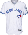 Baseball Collectibles:Uniforms, 2016 Troy Tulowitzki Game Worn Toronto Blue Jays Jersey - MLBAuthentic & Photo Matched. ...