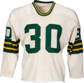 Football Collectibles:Uniforms, Early 1970's Larry Krause Game Worn Green Bay Packers Jersey....