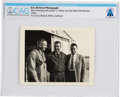 Explorers:Space Exploration, Edwards Air Force Base: U.S. Air Force 1950s Photograph of Neil Armstrong and Joseph Walker Directly From The Armstrong Fa...