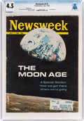 Explorers:Space Exploration, Neil Armstrong Magazine Collection: Newsweek Dated July 7, 1969, Directly From The Armstrong Family Collection™, S...