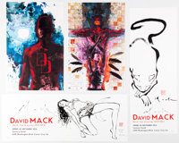 David Mack, John Romita Jr., and Others - Comic-Related Signed Prints Group 10 (Various Publishers, 2000s-2010s).... (To...