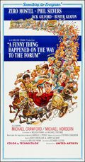 Movie Posters:Comedy, A Funny Thing Happened on the Way to the Forum (United Artists,1966). Folded, Very Fine/Near Mint. International Three Shee...