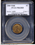 Proof Lincoln Cents: , 1909 1C VDB PR62 Red PCGS....
