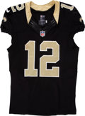 Football Collectibles:Uniforms, 2014 Marques Colston Game Worn New Orleans Saints Jersey....