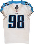 Football Collectibles:Uniforms, 2017 Brian Orakpo Game Worn Tennessee Titans Jersey....