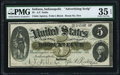 Obsoletes By State:Indiana, Indianapolis, IN- A. F. Noble $5 Advertising Note ND (ca. 1864-68) Wolka UNL / 0925-01 (2018) PMG Choice Very Fine 35 EPQ....