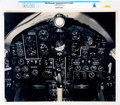 Explorers:Space Exploration, X-15: Large Close-up Cockpit Photo Directly From The Armstrong Family Collection™, CAG Certified. ...