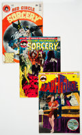 Bronze Age (1970-1979):Miscellaneous, Red Circle Group of 13 (Red Circle, 1970s) Condition: Average FN/VF....