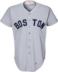 Baseball Collectibles:Uniforms, 1981 Tony Perez Game Worn Boston Red Sox Jersey. ...