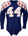 Football Collectibles:Uniforms, 1948 Hank Foldberg College All-Stars Game Worn Jersey....